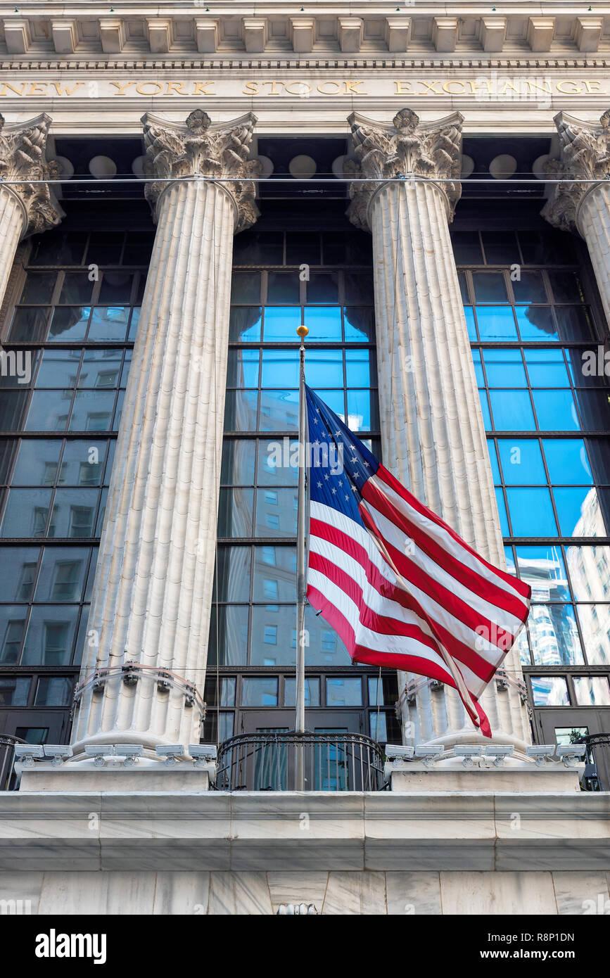 The New York Stock Exchange - Stock Image