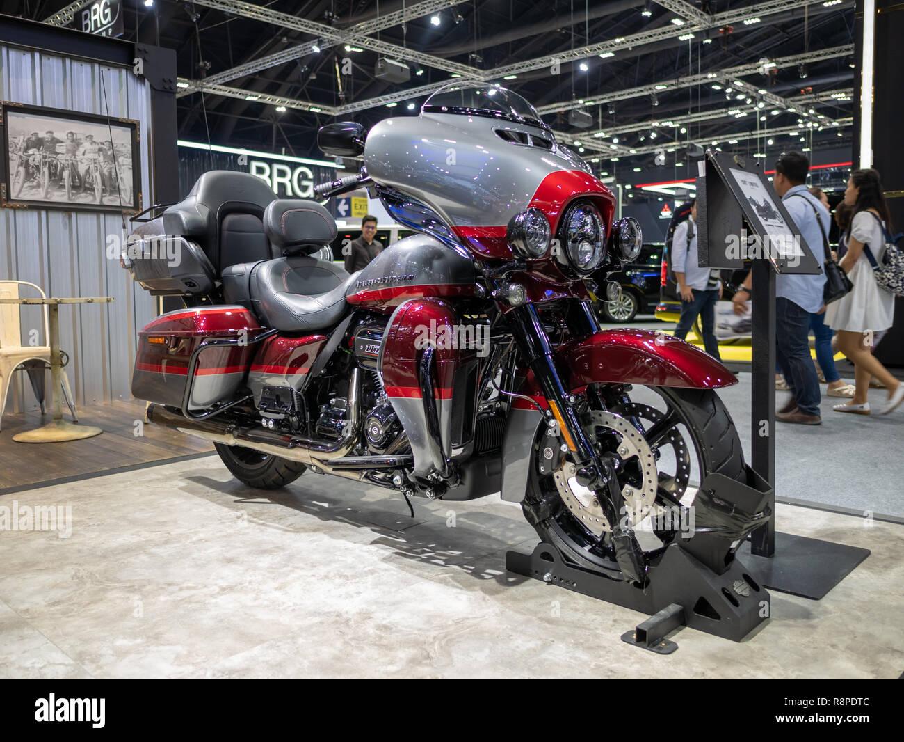 Bangkok, Thailand - November 30, 2018 : Harley-Davidson