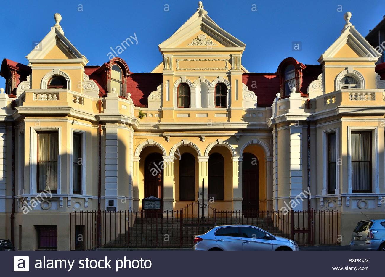 South Africa, Western Cape, Cape Town, City Bowl, Tafelberg Dutch reformed church, Edwardian Baroque style - Stock Image