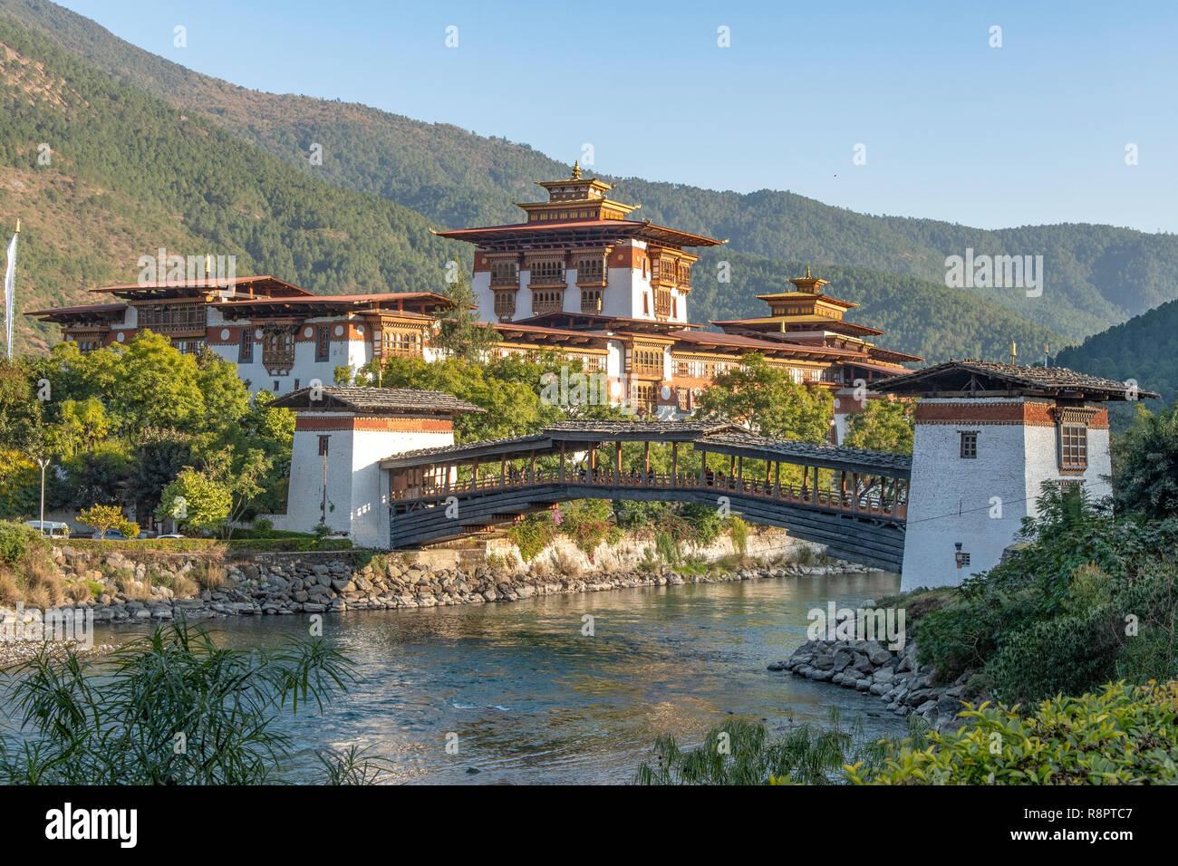 Punakha Dzong, Punakha, Bhutan - Stock Image