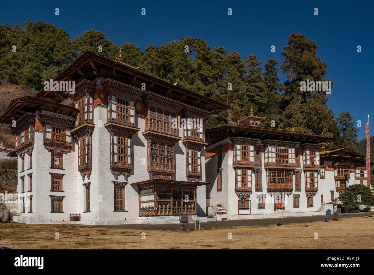 Kurjey Lhakhang, Bumthang, Bhutan - Stock Image