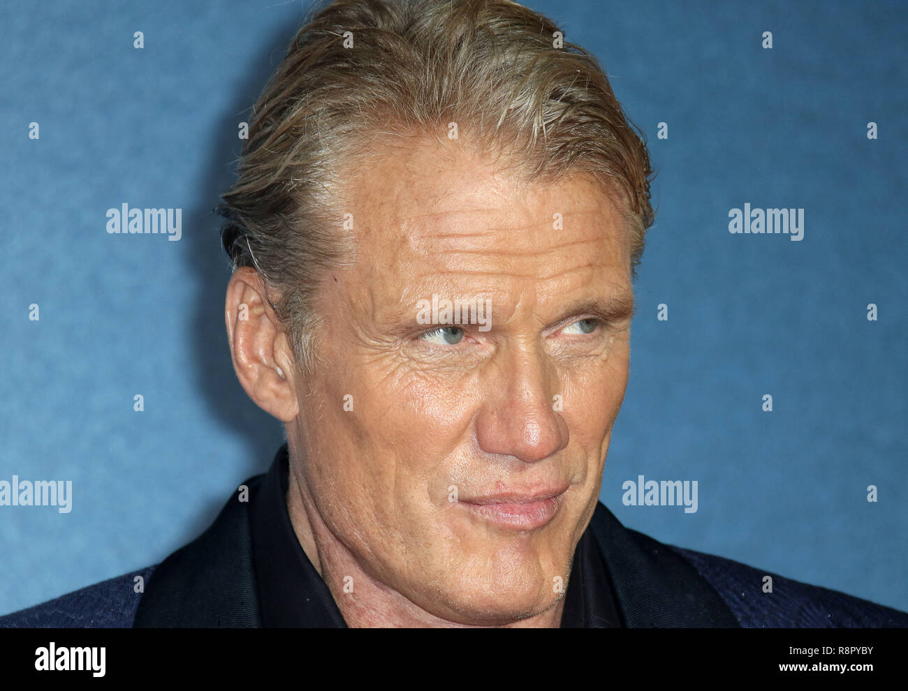 Nov 28, 2018  - Dolph Lundgren  attending Creed II European Premiere, BFI IMAX in London, UK - Stock Image