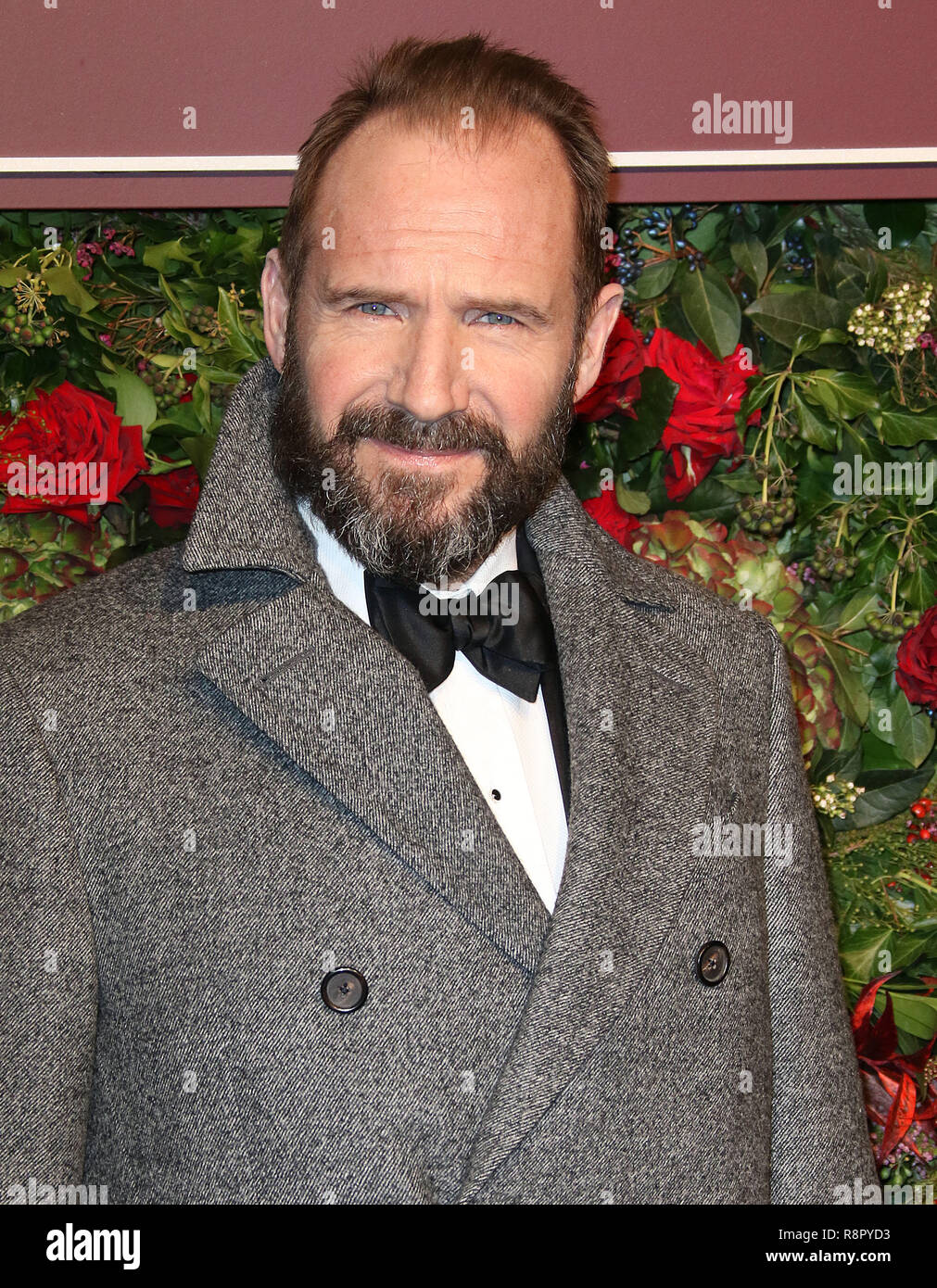 Nov 18, 2018  - Ralph Fiennes attending 64th Evening Standard Theatre Awards, Theatre Royal Drury Lane in London, UK - Stock Image