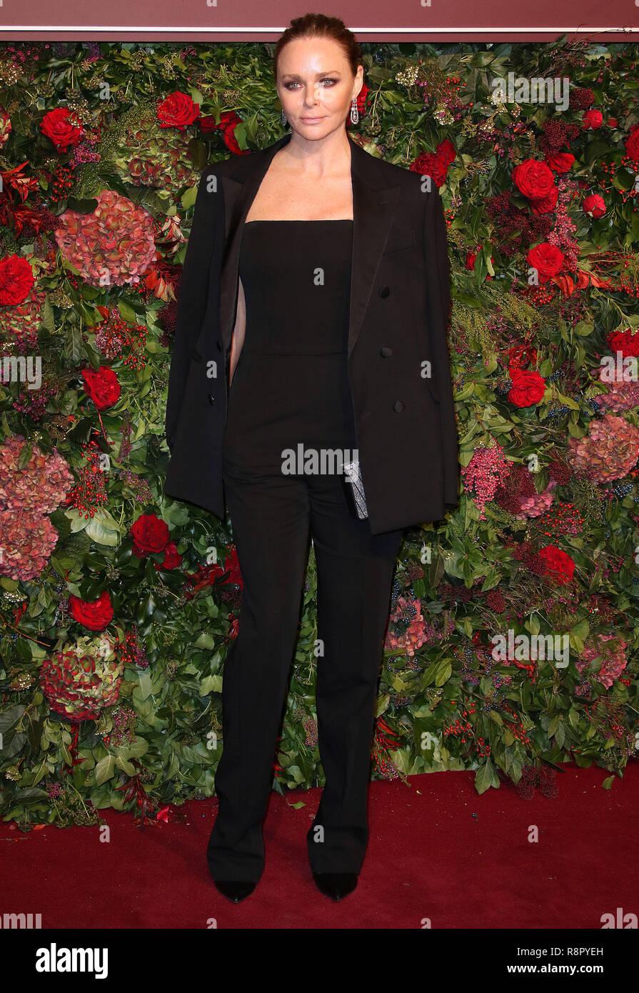 Nov 18, 2018  - Stella McCartney attending 64th Evening Standard Theatre Awards, Theatre Royal Drury Lane in London, UK - Stock Image