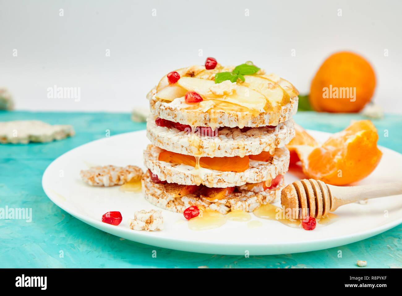 Super Vegan Diet Organic Natural Birthday Cake With Rice Crisp Bread Birthday Cards Printable Giouspongecafe Filternl