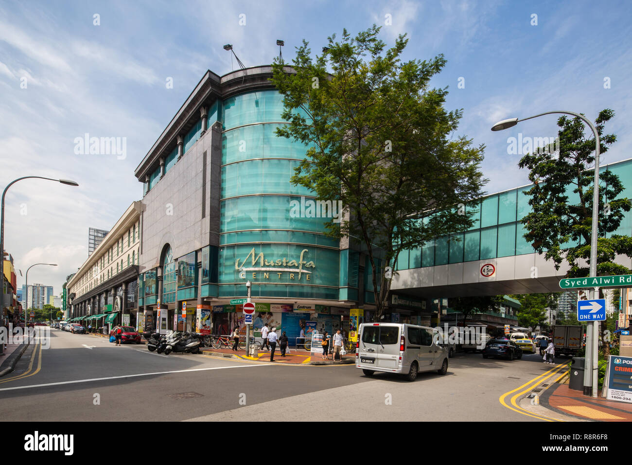 f8a6c3d7d379a Mustafa Centre is one of Singapore s 24-hour shopping malls on Syed Alwi  Road in the cultural district of Little India. A favourite place for  tourists