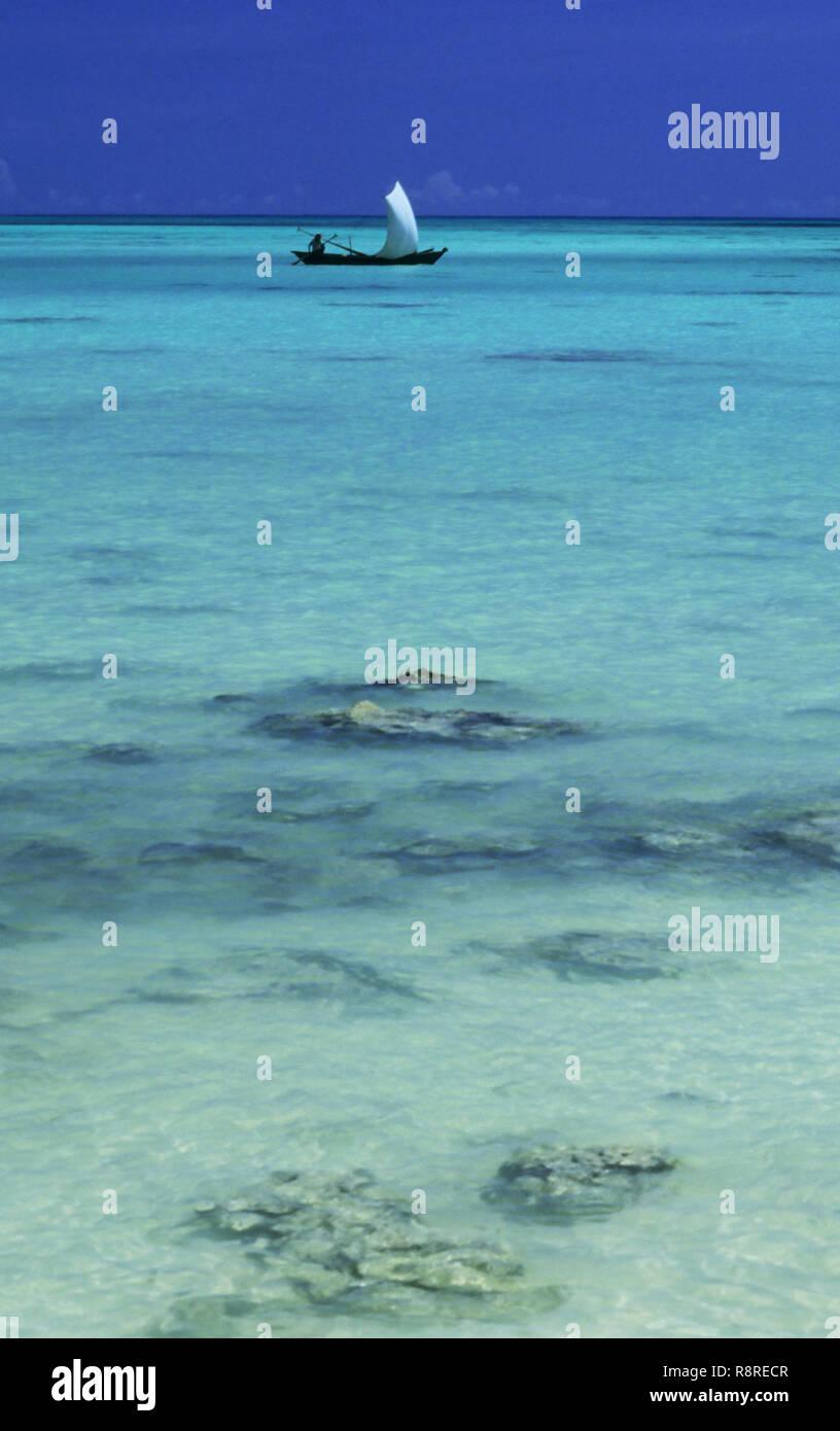 Havelock Beach, Port Blair, Andaman Islands, India - Stock Image