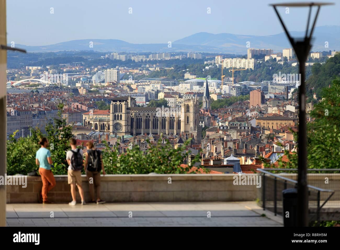 France, Rhone, Lyon, 1st arrondissement, Les Pentes district of La ...