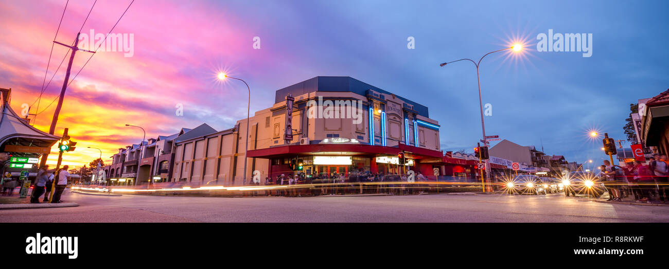 Luna Cinema, Leederville, Perth, Western Australia Stock Photo