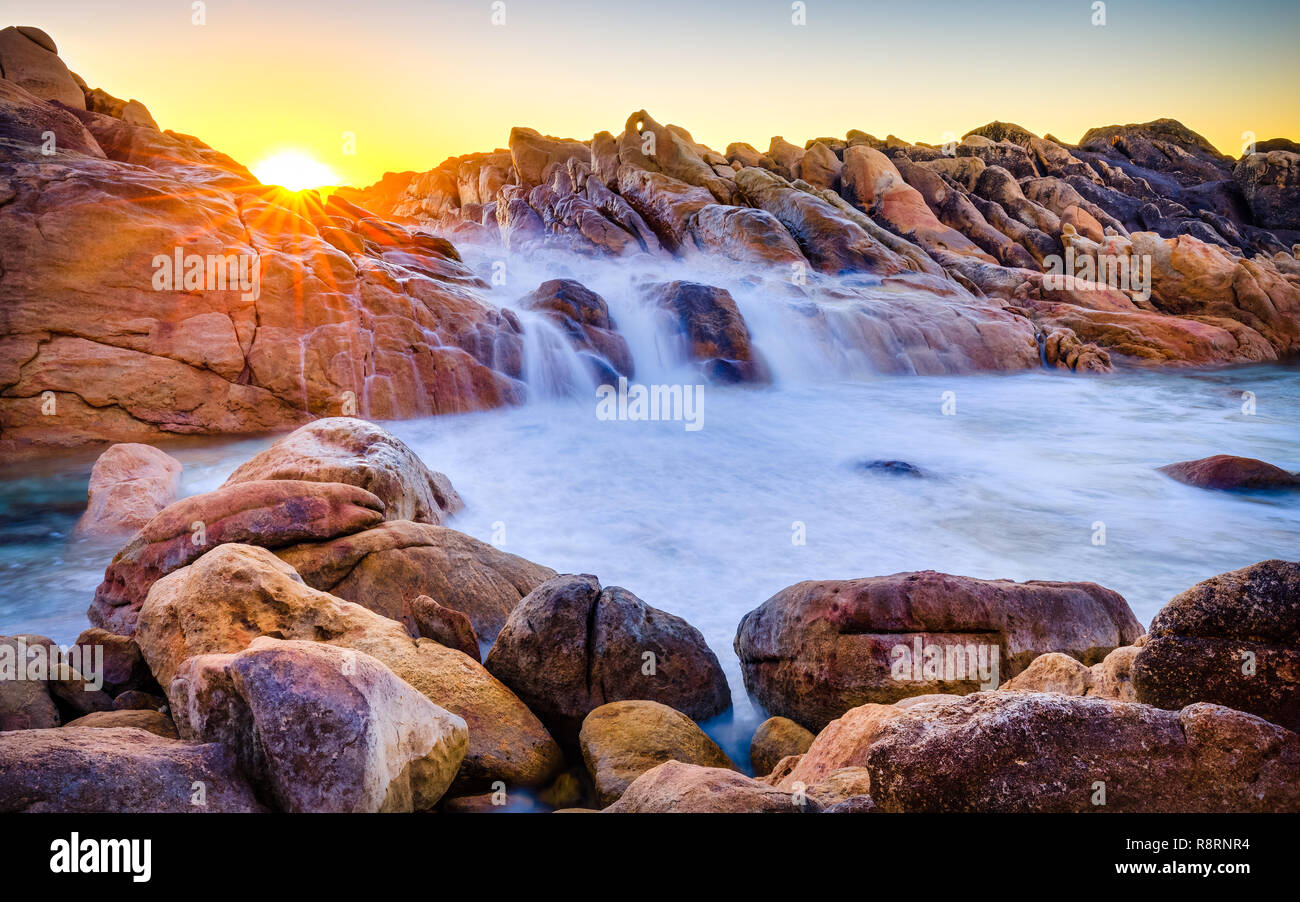 Natural Spa, Wyadup, Western Australia - Stock Image