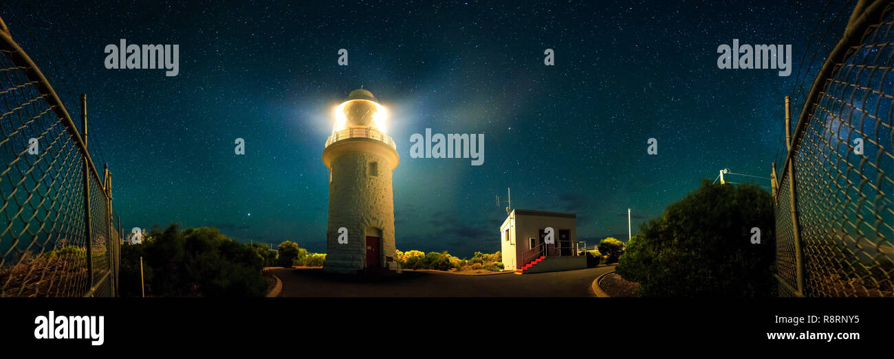 Cape Naturaliste Lighthouse - Stock Image