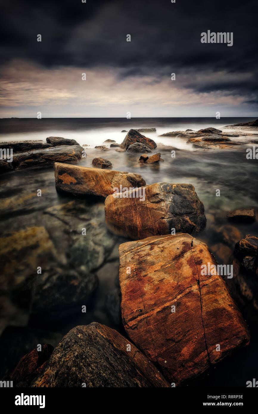 Rough Seas - Stock Image