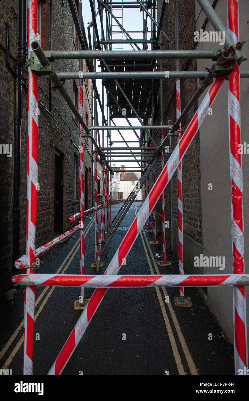 Ladder Scaffolding Stock Photos Amp Ladder Scaffolding Stock