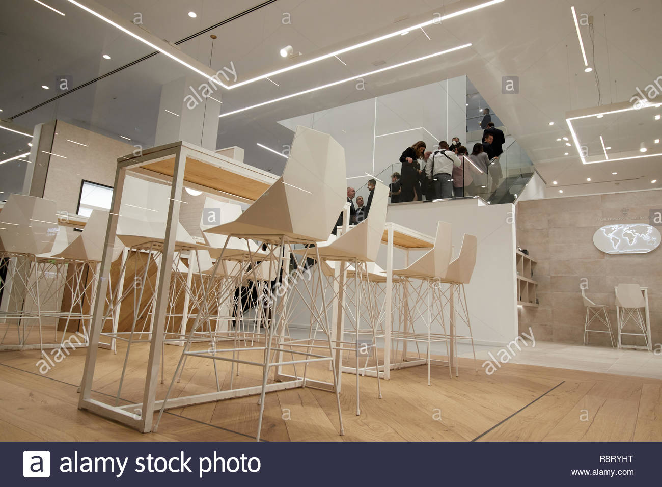 CASTELLON, SPAIN - DECEMBER 2018 - New showroom Porcelanosa