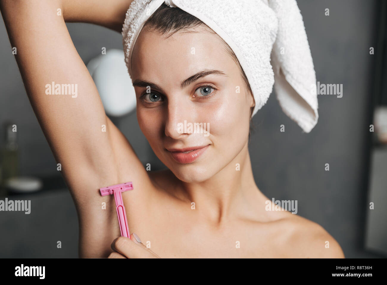 A when her shaving armpits should start girl When my