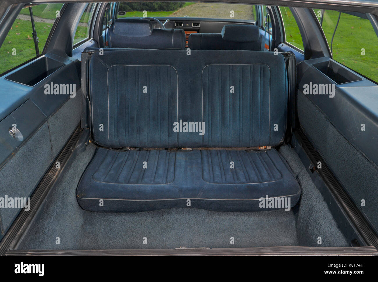 Station Wagon Rear Seat High Resolution Stock Photography And Images Alamy