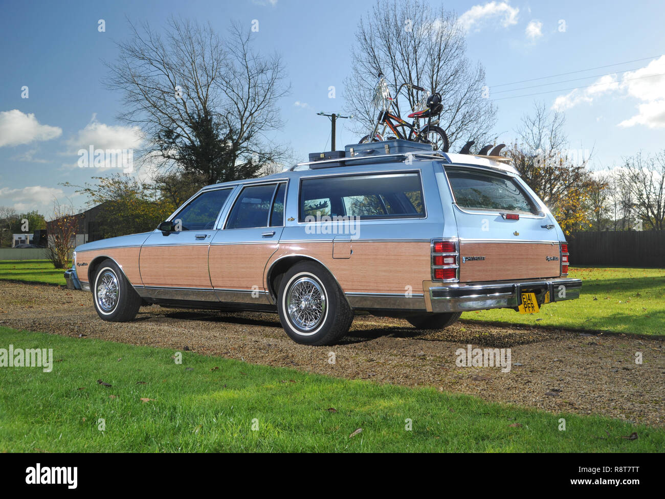 1986 Chevrolet Caprice 'Woody' station wagon, wood trimmed