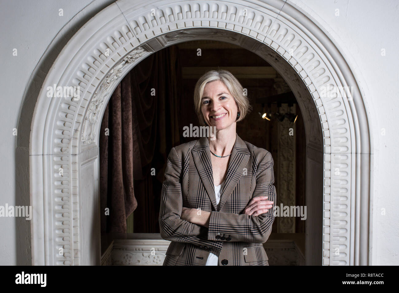 Jennifer Doudna, American biochemist, Professor in Chemistry and Chemical Engineering and the Department of Molecular and Cell Biology. - Stock Image