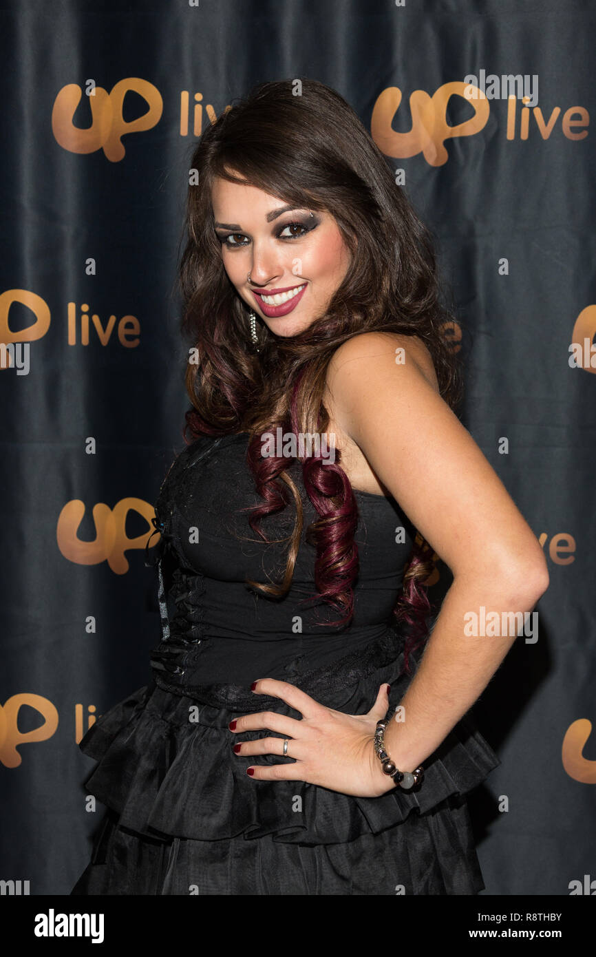 0ba9d62e6f73 Singer Avlla Dy arrives at UpLive Host Appreciation Party in Burbank