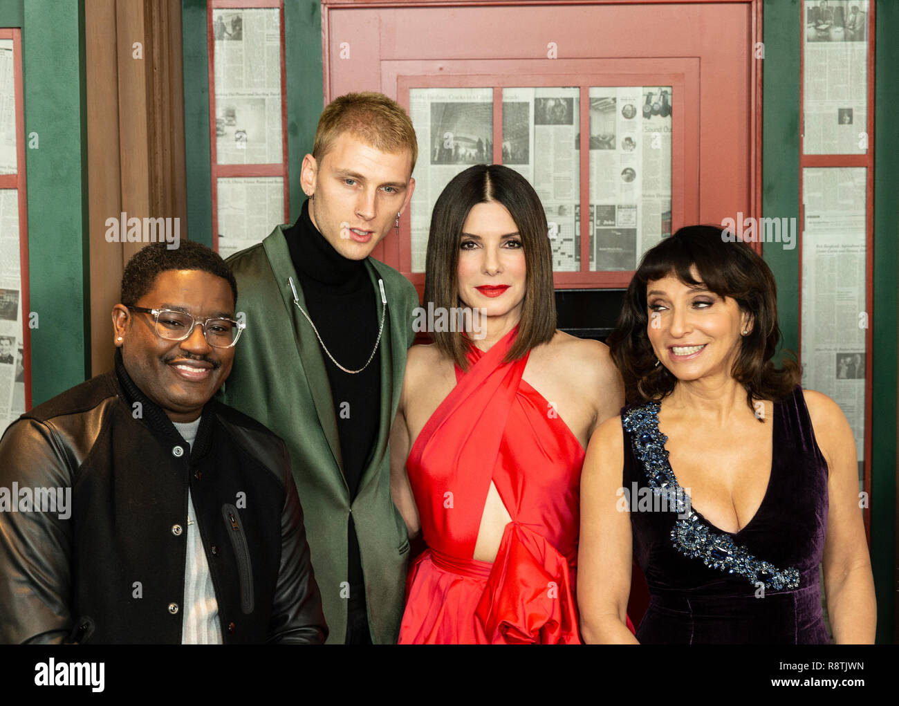 New York, United States. 17th Dec, 2018. New York, NY - December 17, 2018: Cast and crew attend the New York screening of 'Bird Box' at Alice Tully Hall Lincoln Center Credit: lev radin/Alamy Live News - Stock Image