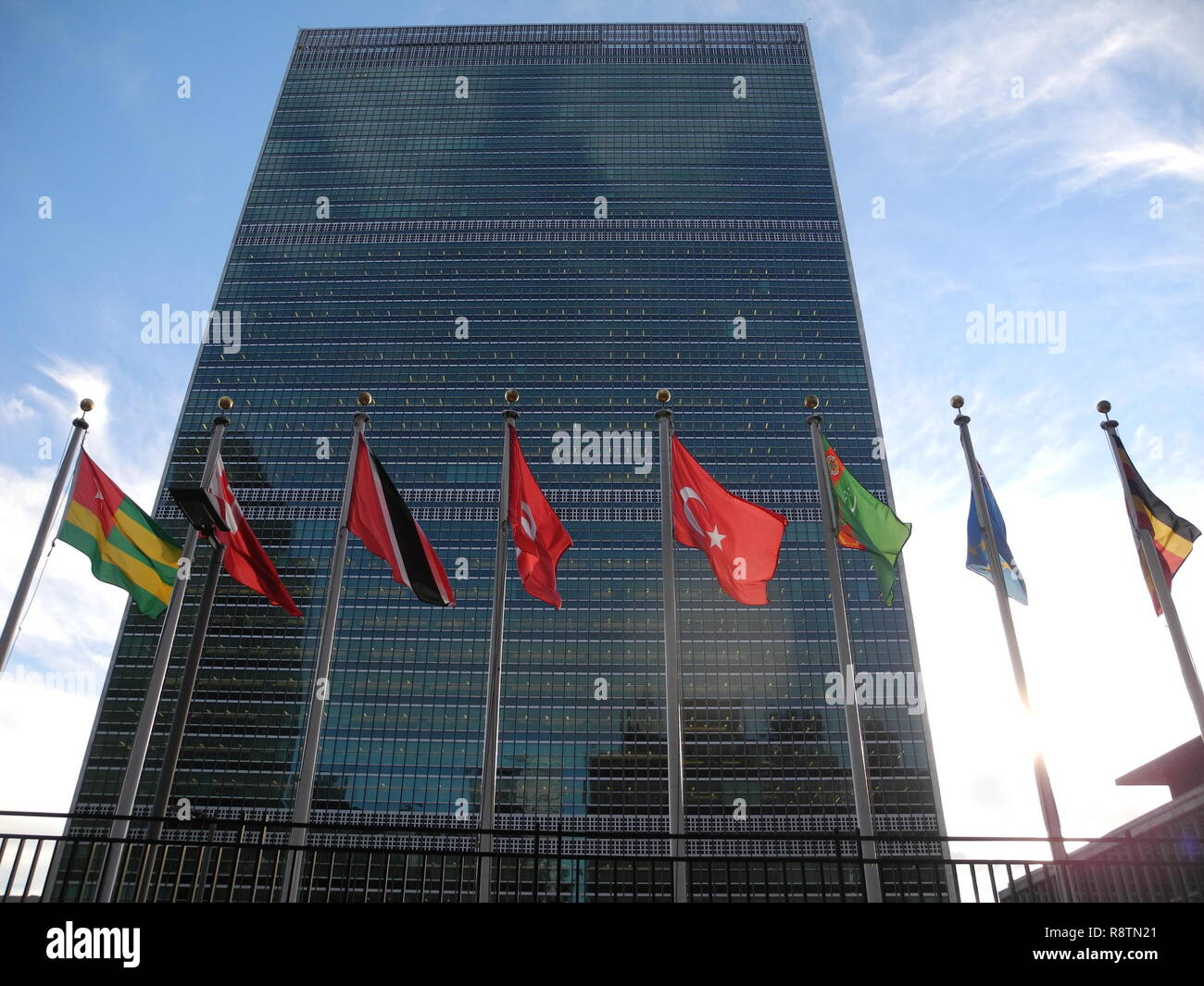 17 December 2018, US, New York: United Nations headquarters in New ...