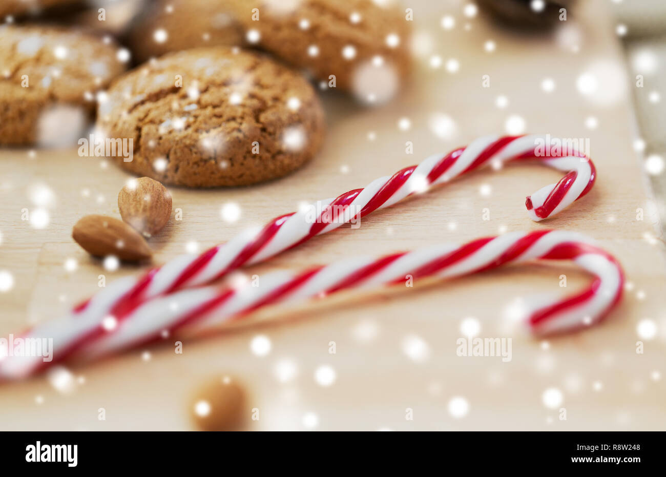 Candy Cane Cookie Stock Photos Candy Cane Cookie Stock Images Alamy