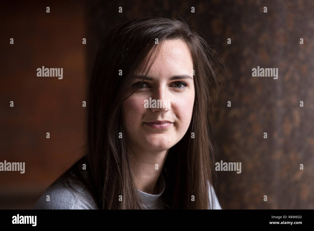 Hannah Anderson, founding member of The Social Chain Group  and director of media, creative and brand strategy at Media Chain, photographed in London. - Stock Image