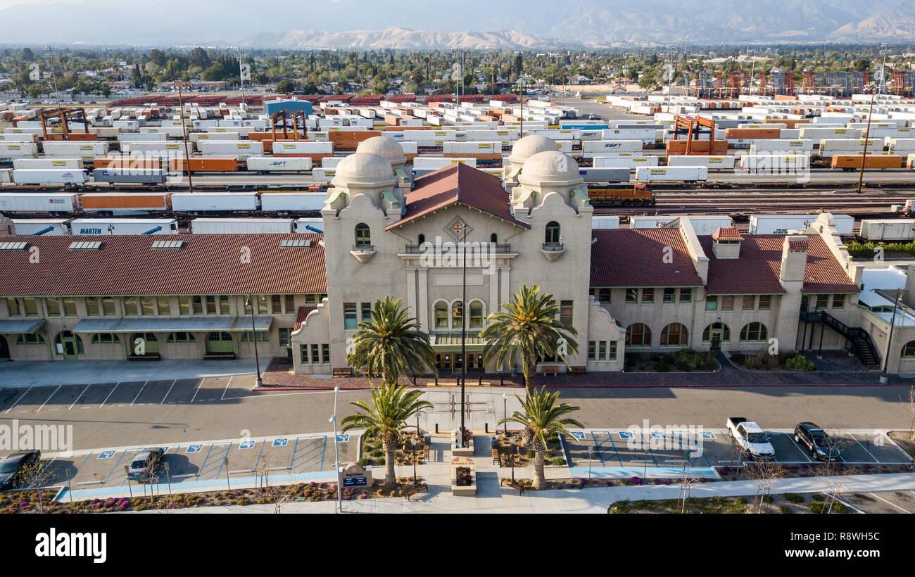 San Bernardino Santa Fe Depot Or San Bernardino Station San