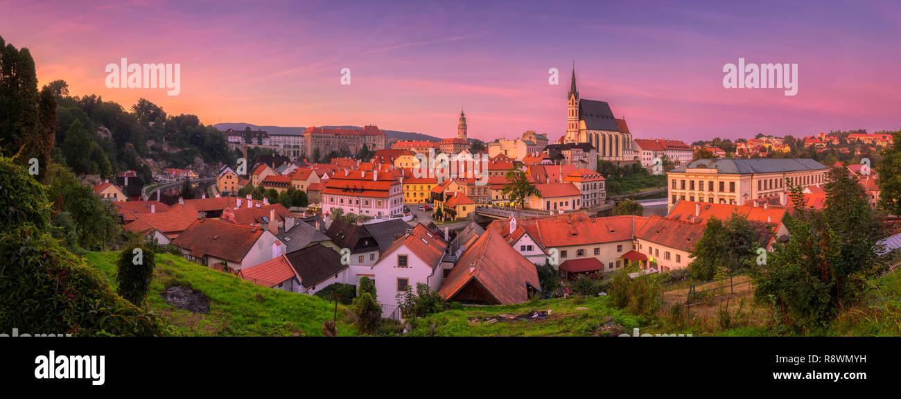 Český Krumlov, Czech Republic - Stock Image