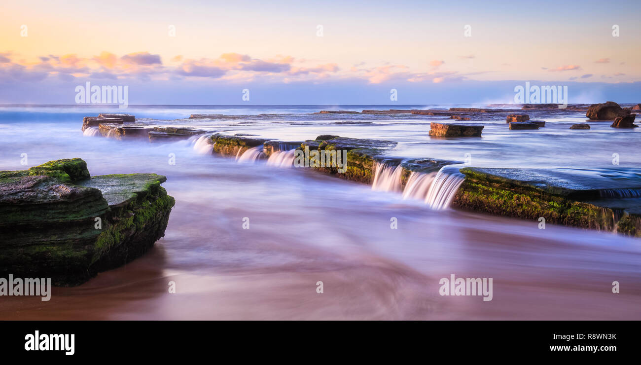 Narrabeen Rock Pool - Stock Image