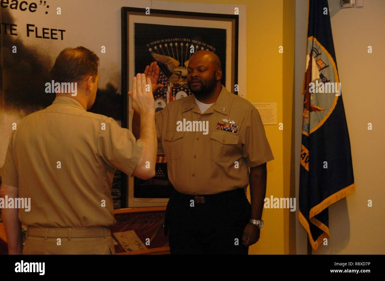 The Hampton Roads Naval Museum proudly hosted a re