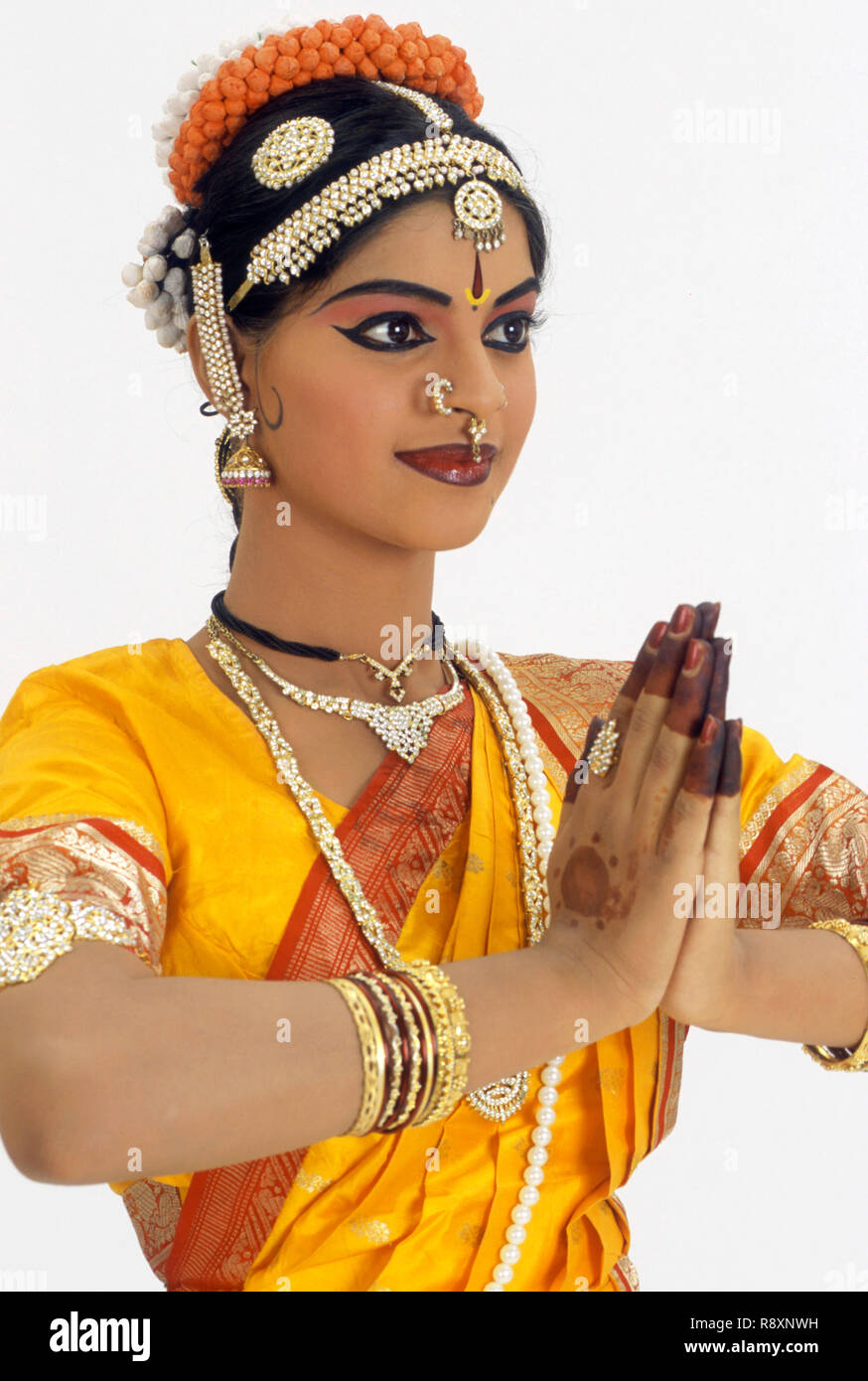 3ee1b6210c Kuchipudi dance, woman performing classical dance of india, emotion  welcome, india MR.