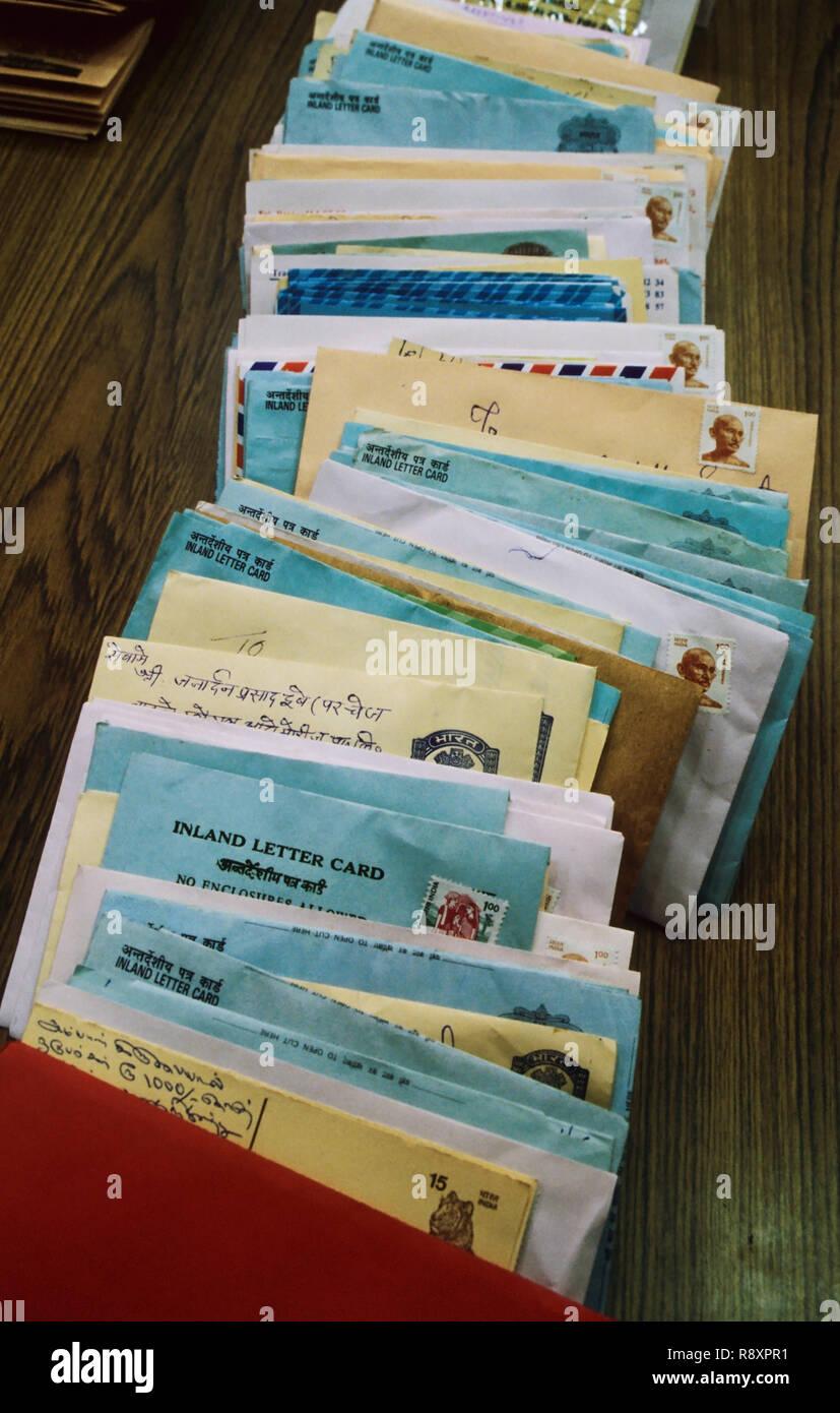 Postal Communication - Stock Image