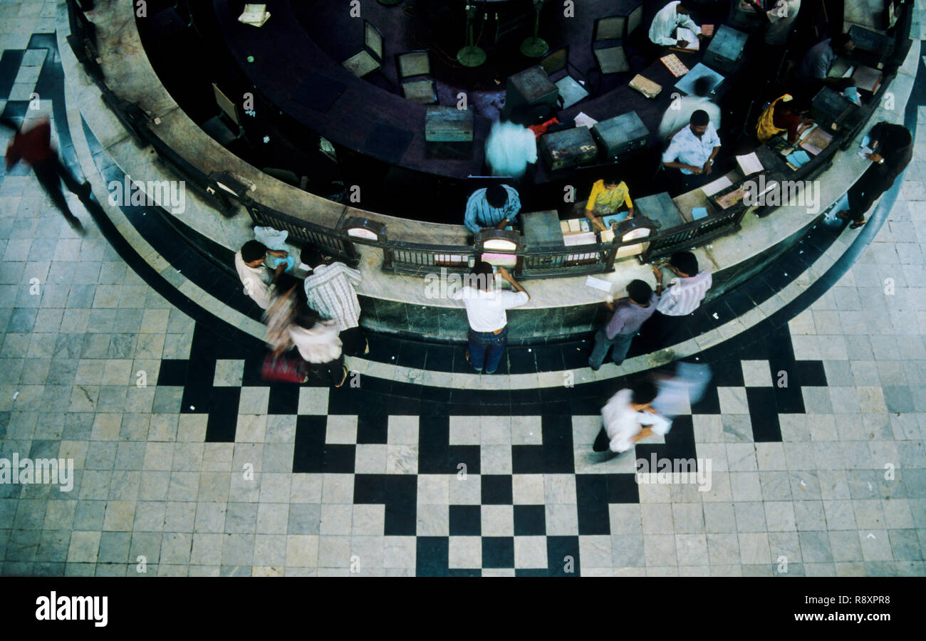 Postal Communication - General Post Office - Mumbai, Maharashtra, India - Stock Image