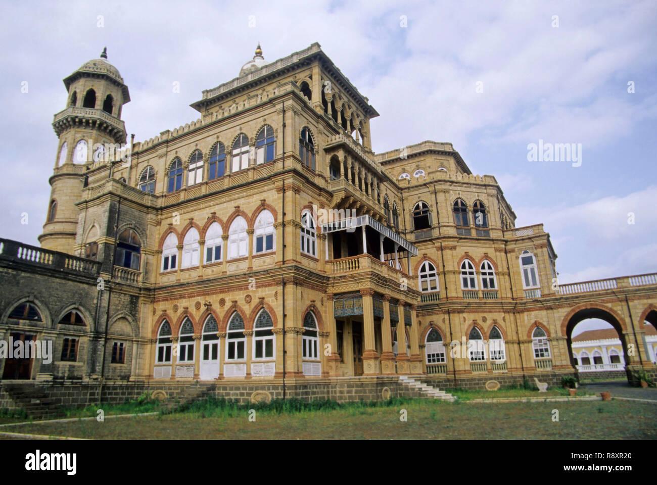 Vakaner Palace, Gujarat, India - Stock Image