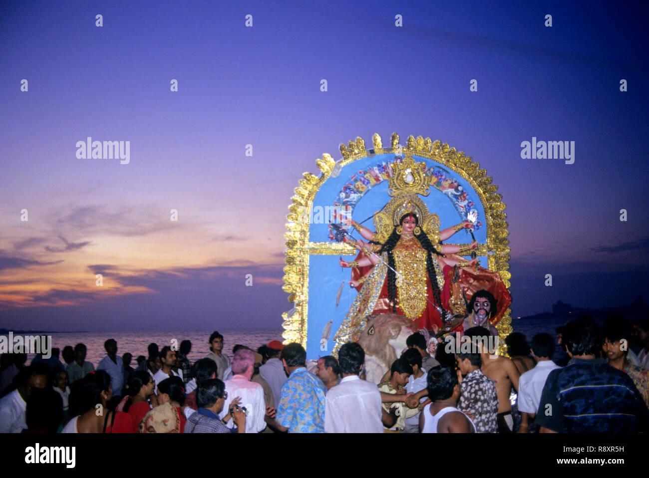 Durga Festivals - Stock Image
