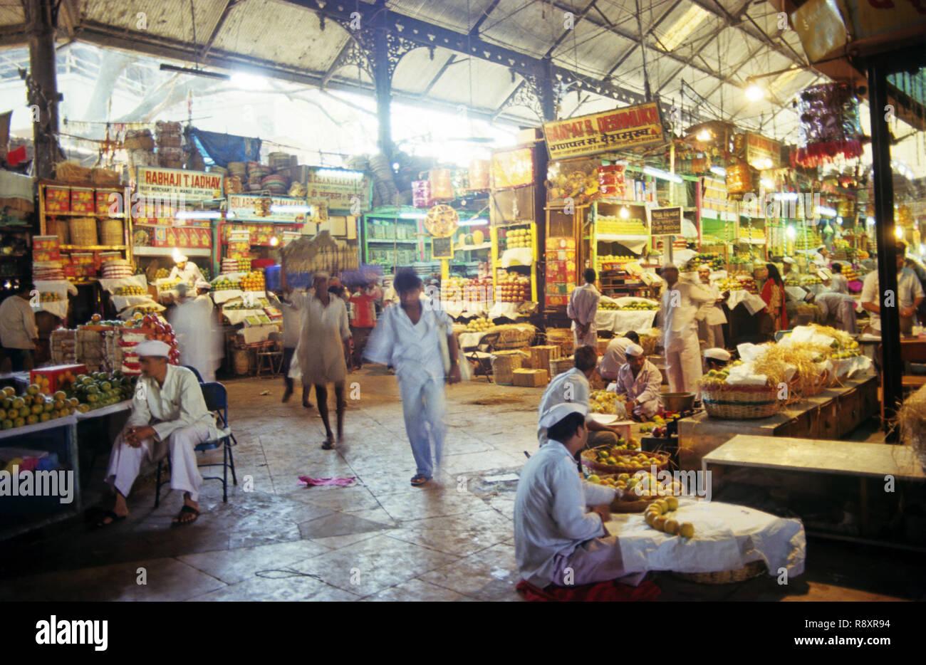 Crawford Market, Mumbai, Maharashtra, India - Stock Image