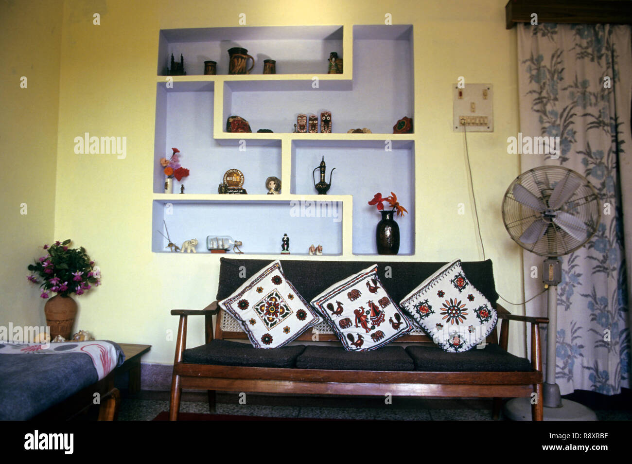 Indian Middle Class Home High Resolution Stock Photography And Images Alamy