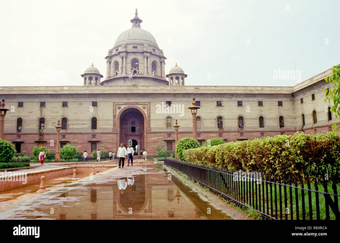 South Block, New Delhi, India - Stock Image