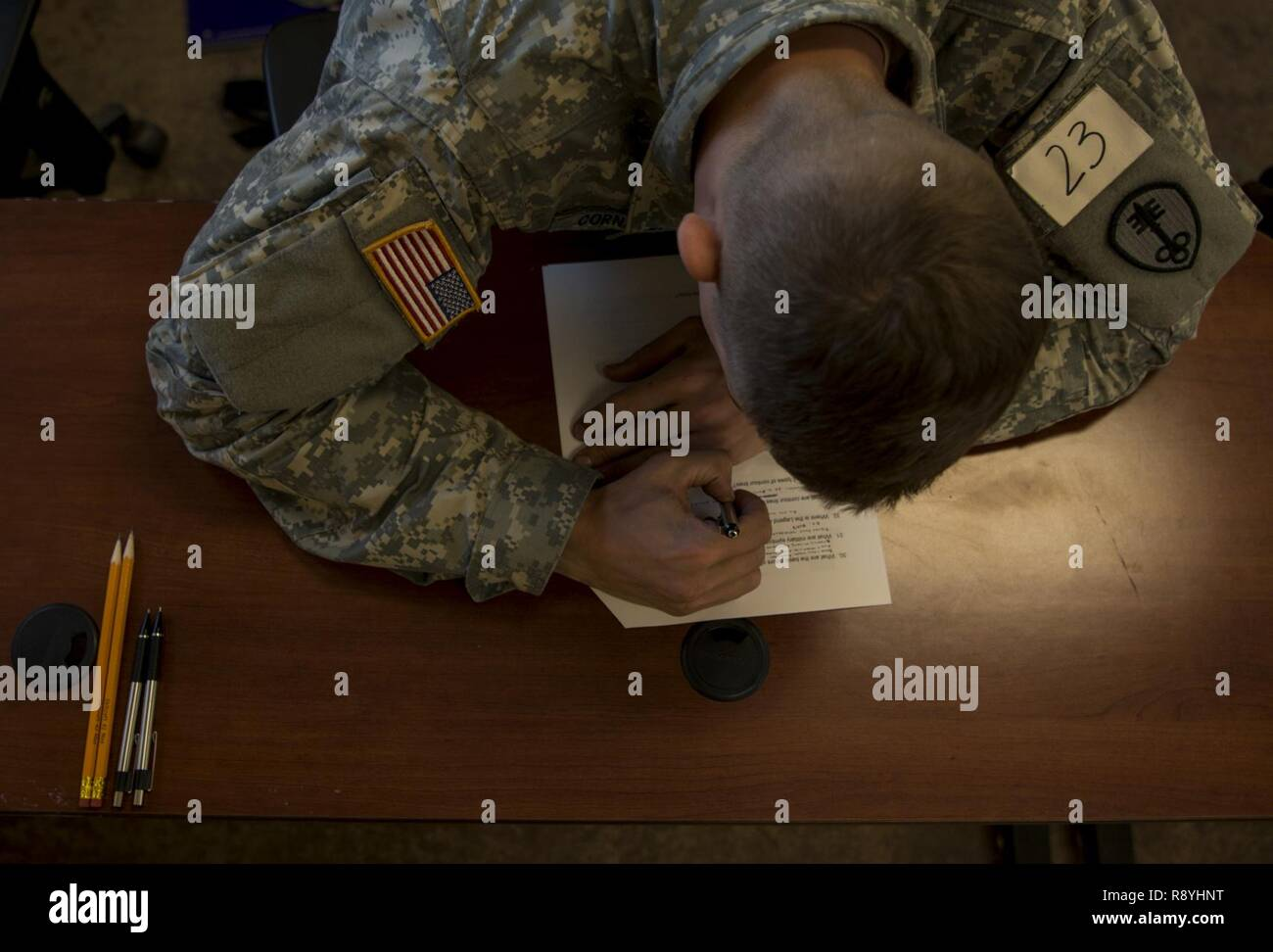 Army Fitness Test Stock Photos & Army Fitness Test Stock