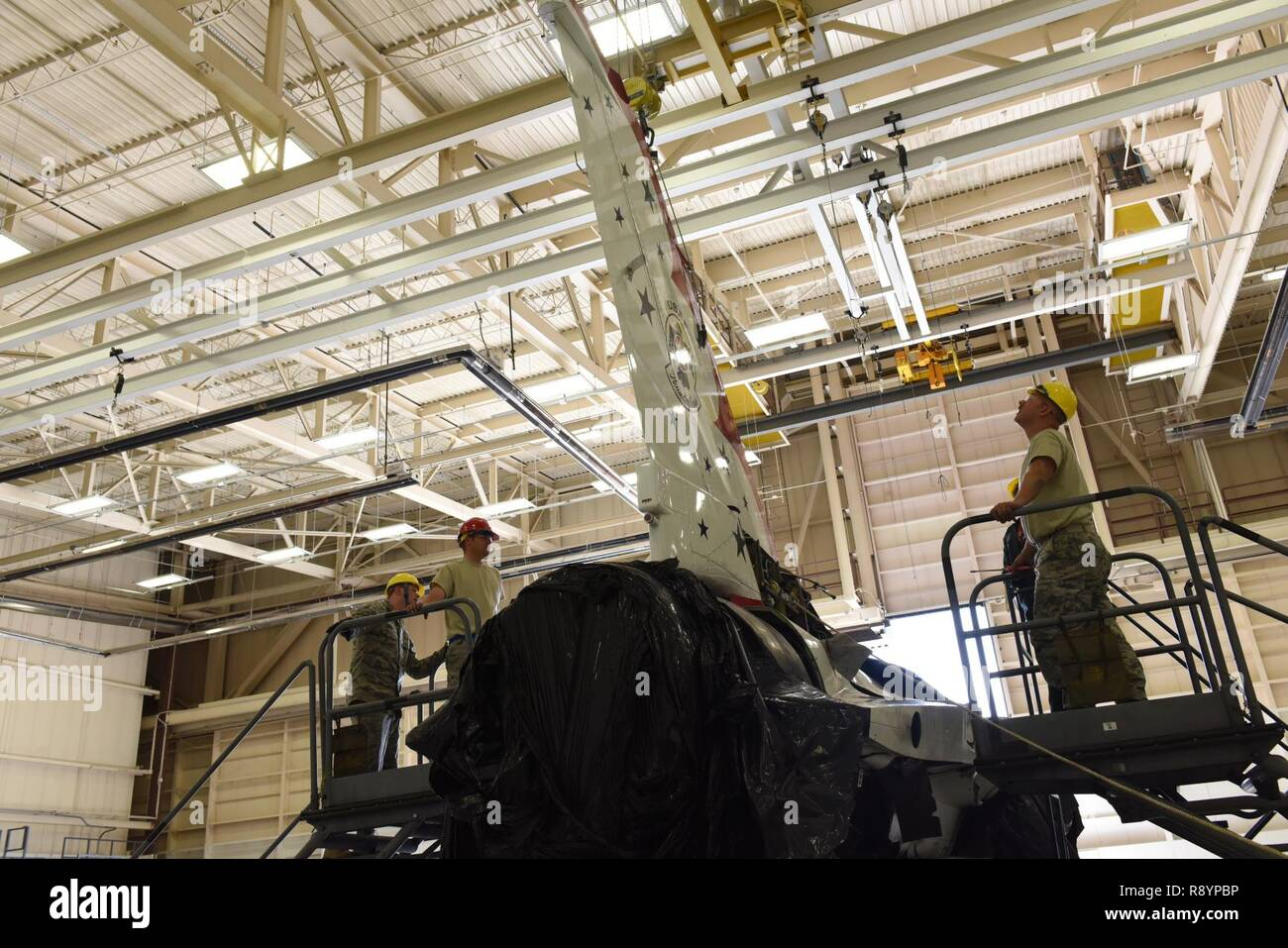 A Pilot With The Colorado Air National Guard Stock Photos