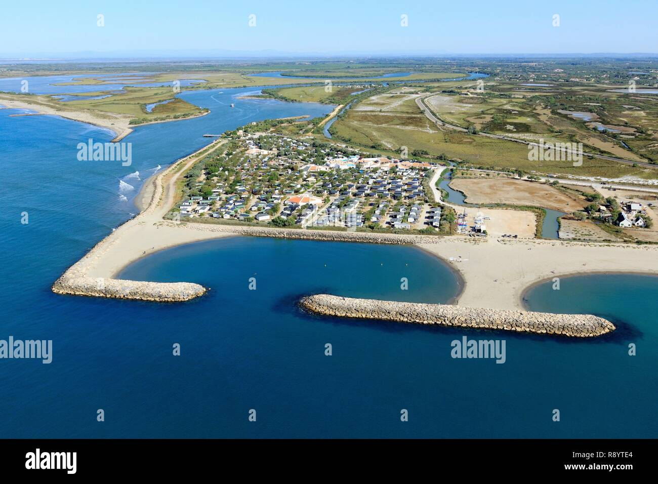 Campsite Of Saintes Maries De La Mer High Resolution Stock Photography And Images Alamy