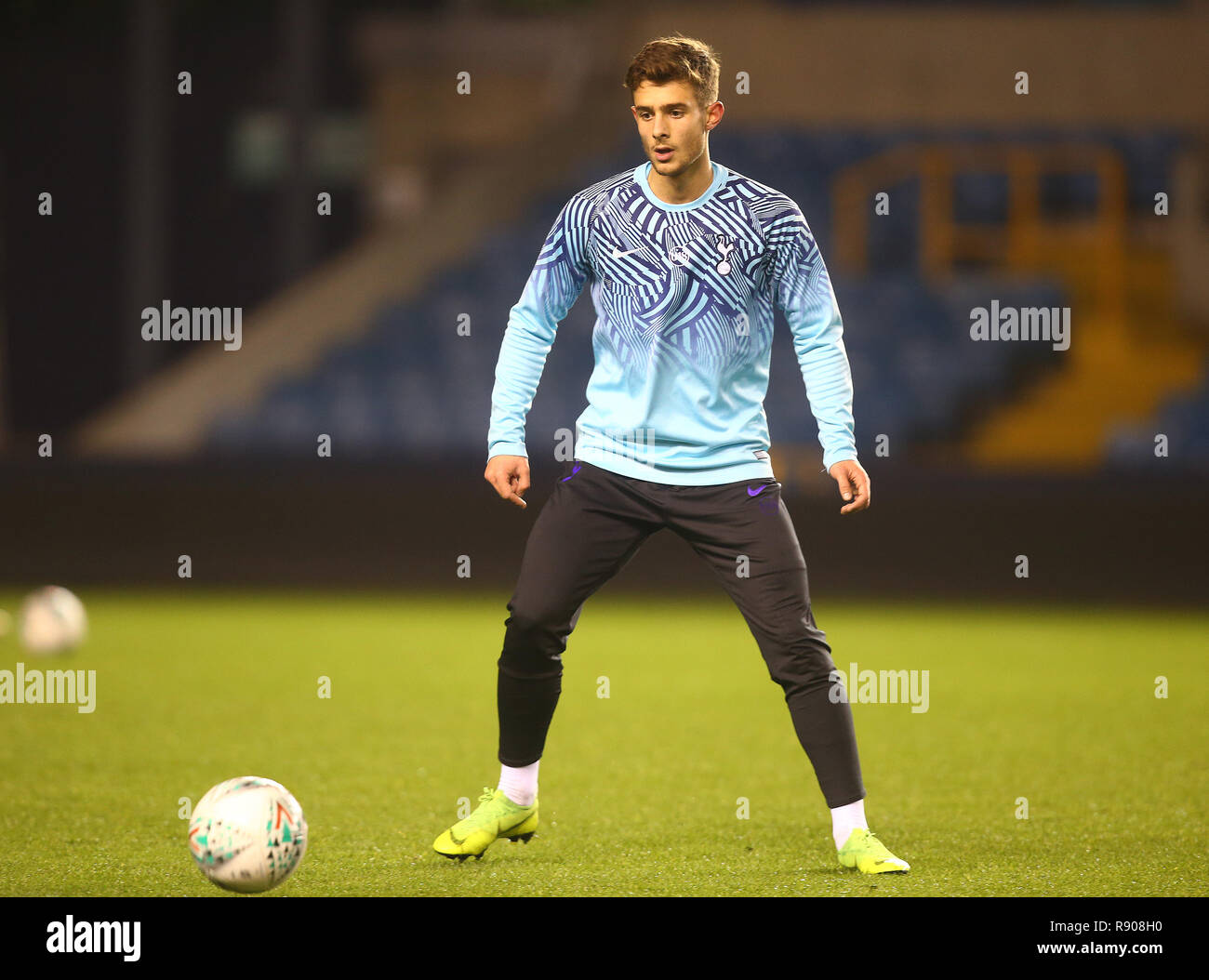 London Uk 17 December 2018 Maurizio Pochettino Son Of Tottenham Hotspur Manager Mauricio Pochettino During Fa Youth Cup Third Round Match Between Stock Photo Alamy