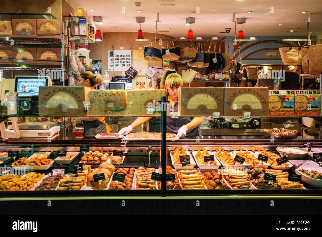 France Rhone Lyon Les Halles Bocuse Bahadourian Grocery Store
