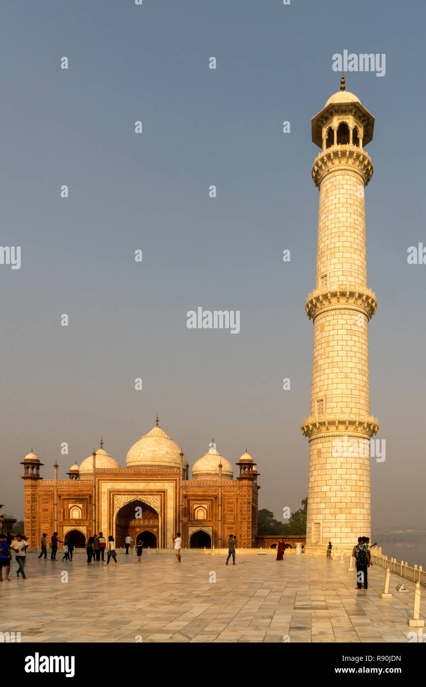 The Golden Triangle cities of Delhi, Agra and Jaipur in Northern India Stock Photo
