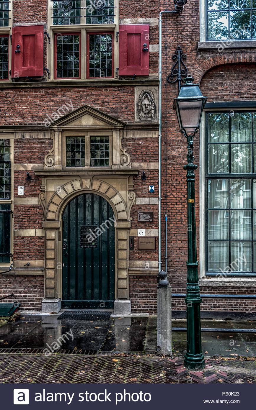 Stately Entrance - Stock Image