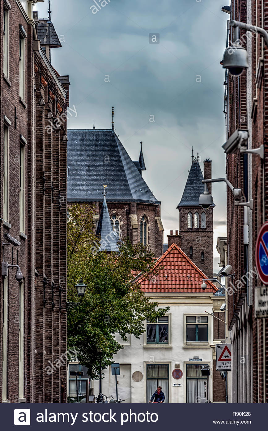Kerk Alley View - Stock Image