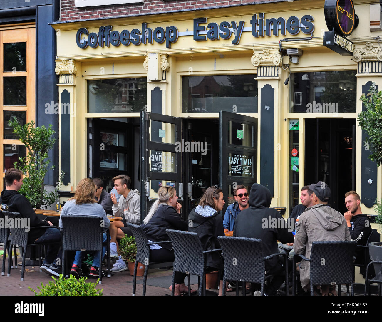 Coffeeshop Easy,  Amsterdam, The Netherlands, Dutch, - Stock Image