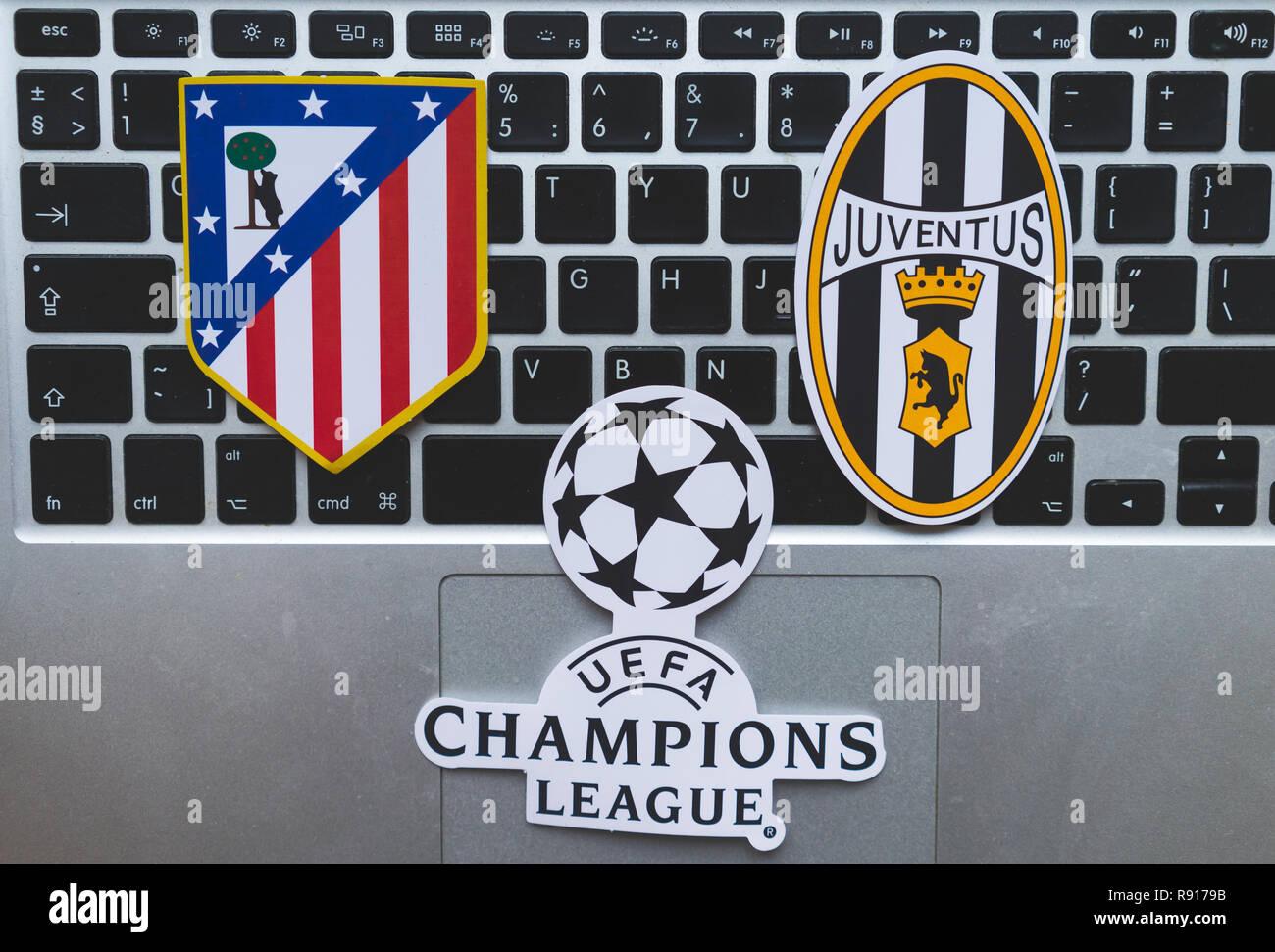 Juventus Team 2019 Stock Photos & Juventus Team 2019 Stock