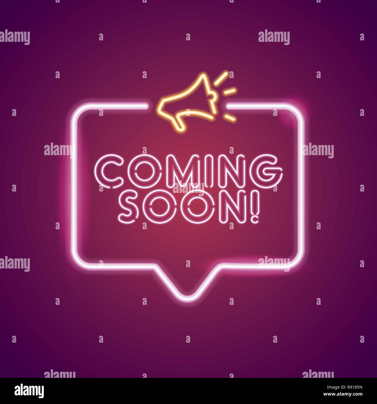 Coming Soon Poster Sketsa